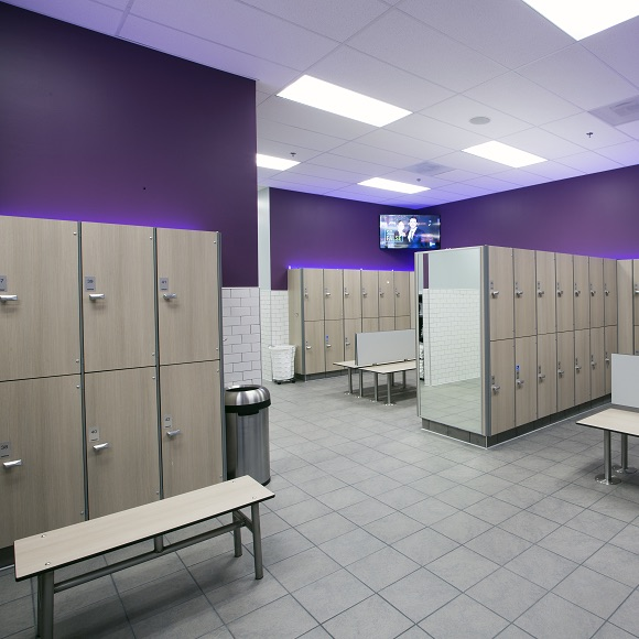 Full-Service Locker Rooms